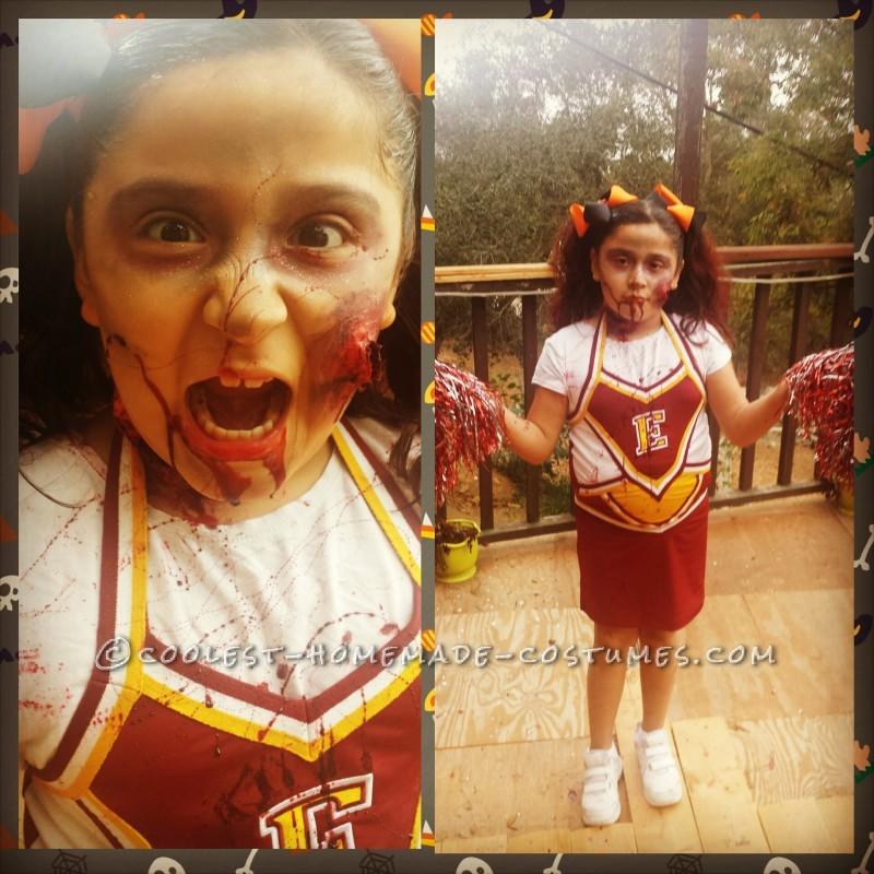 Creepy Zombie Cheerleader Costume