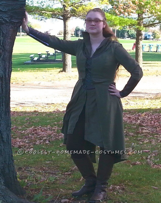 Sassy Tauriel Costume from Lord of the Rings