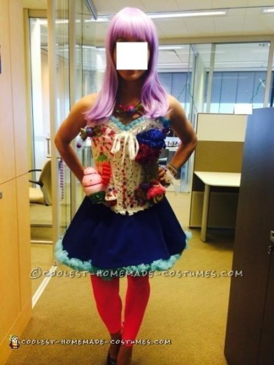 Cool Homemade Katy Perry Candyland Costume