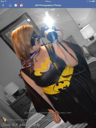 Awesome Homemade Batgirl Costume