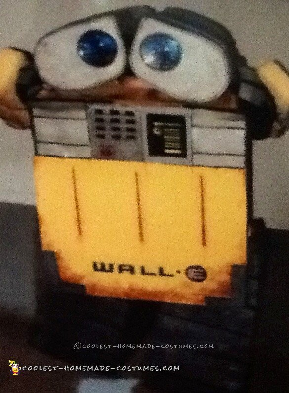 Cool Wall-E Costume for a Toddler Boy - 3