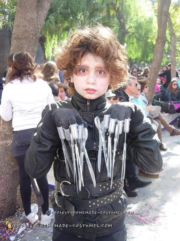 Cool Edward Scissorhands Costume