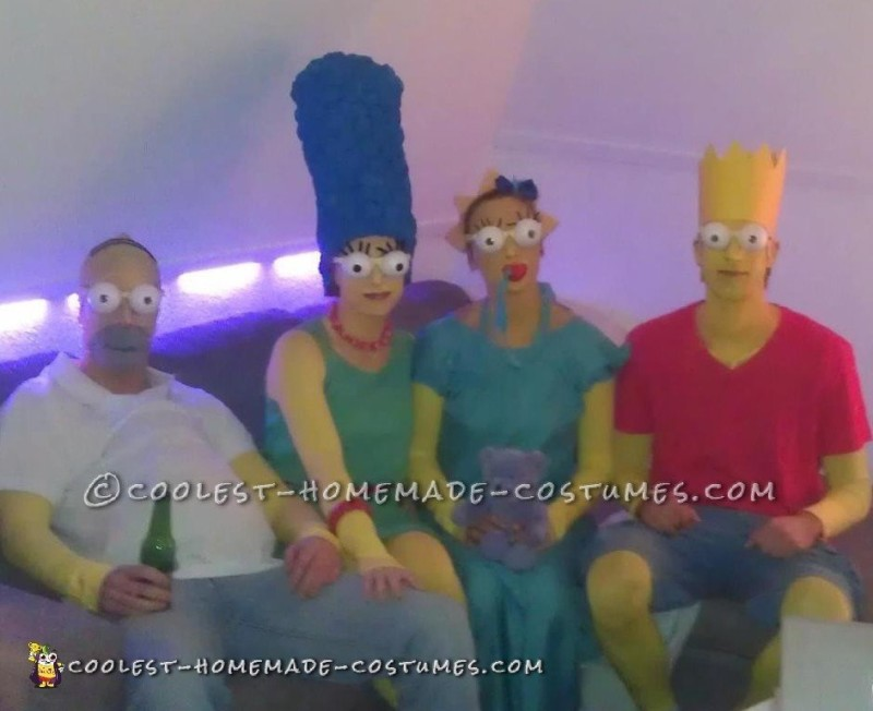 Cool Simpsons Family Costume