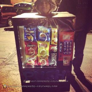 Cool Vending Machine Child Costume