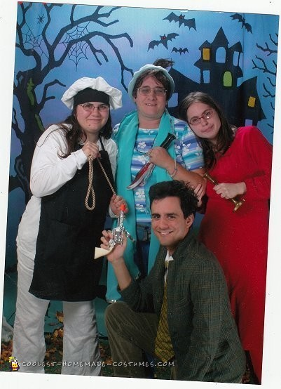 Clue Family Group Costume