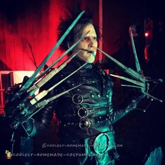Coolest Handmade Edward Scissorhands Costume