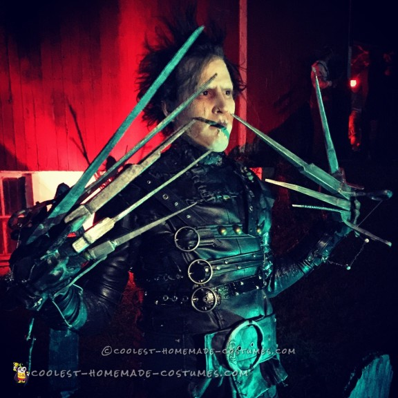 Coolest Handmade Edward Scissorhands Costume