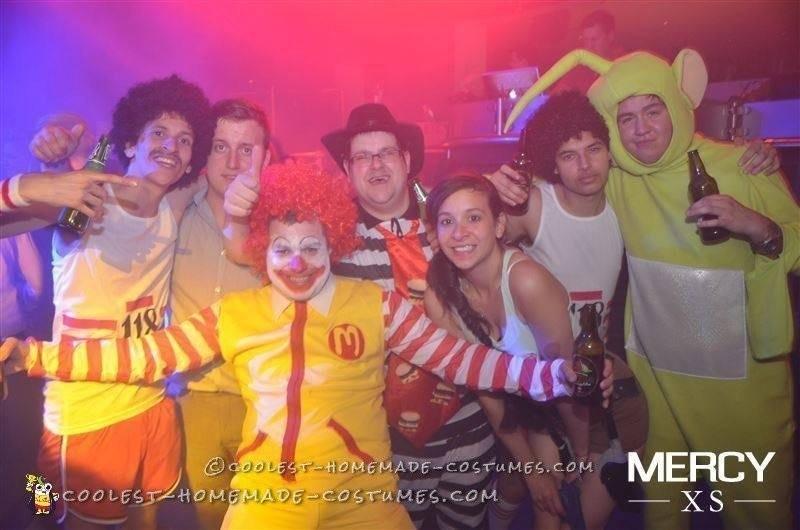 Ronald and the Hamburglar Couple Costume