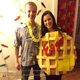 Cool San Diego (Sandy Eggo) Couples Costume