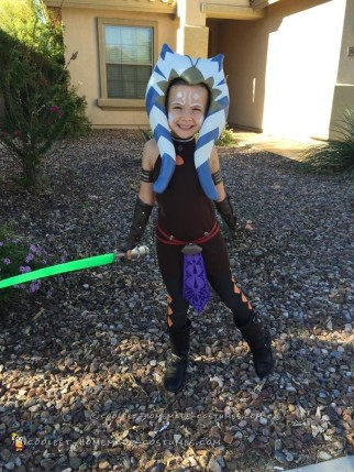 Cool Star Wars Clone Wars Ahsoka Tano Costume