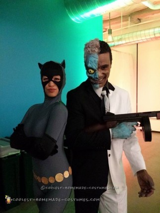 Batman Two-Face Costume and Makeup