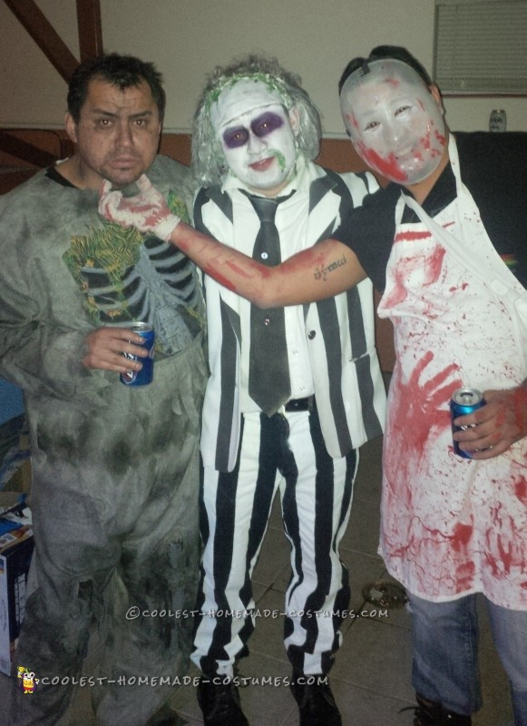 Beetlejuice and Miss Argentina Couple Costume - 2