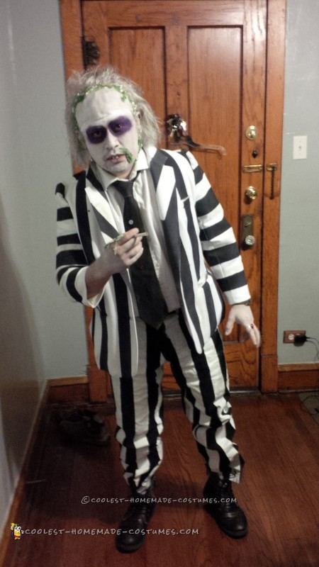 Beetlejuice and Miss Argentina Couple Costume - 1