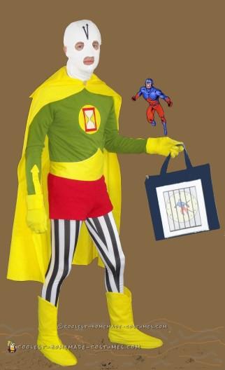 Chronos DC Comics Villain Cosplay Costume