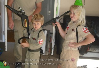 DIY Ghostbusters Costumes for a Ghostbusters Party