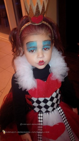 Cutest Ever Queen of Hearts Costume
