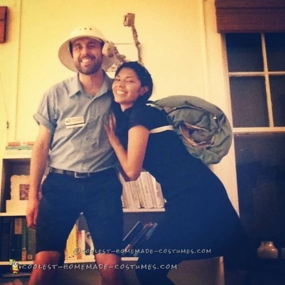 Cute Snail-Mail Couple Costume