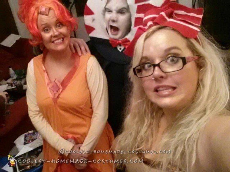 Flame Princess, Peppermint Butler, and Breakfast Princess