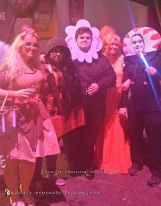 Cool Adventure Time Group Costume