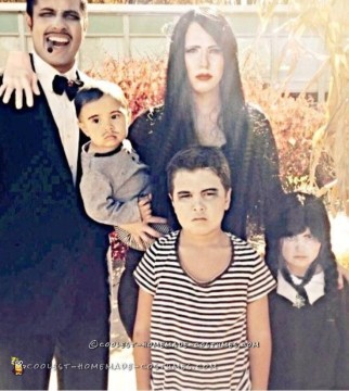 Coolest and Cheapest Addams Family Costume