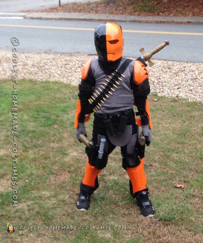 Deathstroke Costume for a 9 Year Old Boy