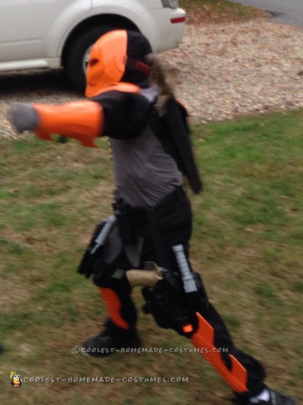 Deathstroke Costume for a 9 Year Old Boy - 1