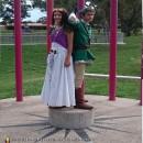 Link and Zelda Couples Costume