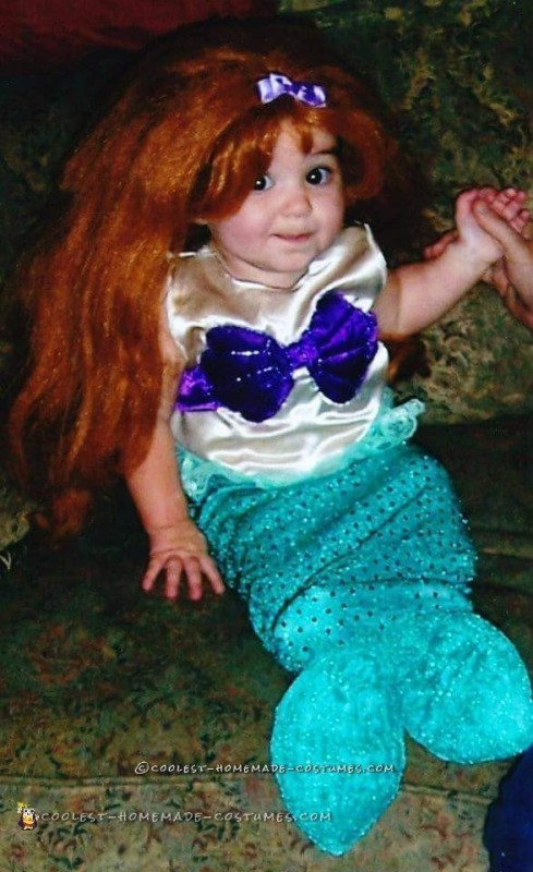 Cute Little Mermaid Costume for an Infant Girl