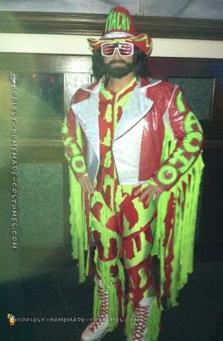 Cool Homemade Macho Madness Costume
