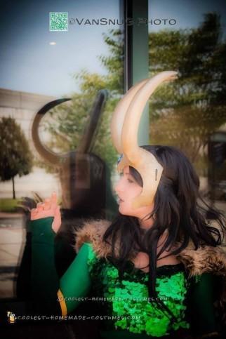 Majestic Goddess of Mischief Costume
