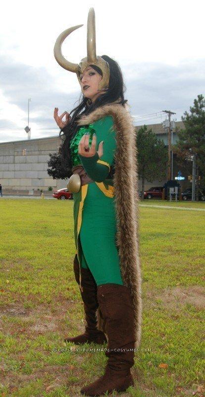 Majestic Goddess of Mischief Costume - 4