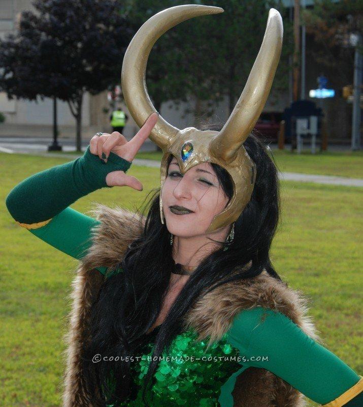 Majestic Goddess of Mischief Costume - 5