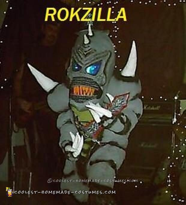 Rokzilla – DIY Prehistoric Monster Costume - 1