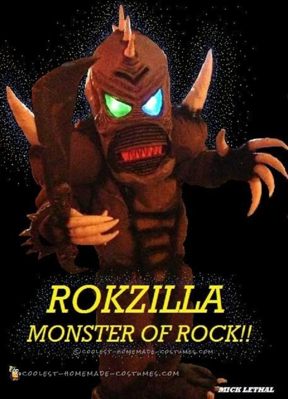 Rokzilla – DIY Prehistoric Monster Costume - 2