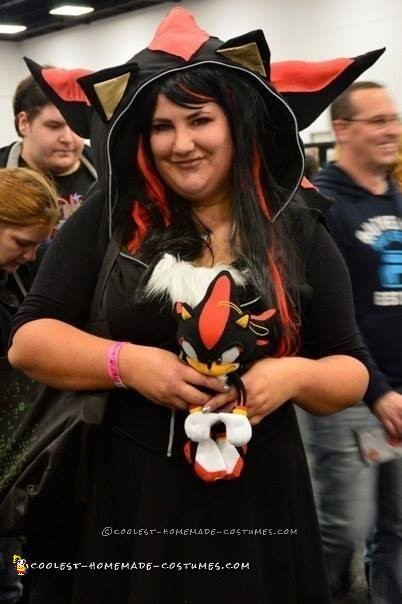 Shadow the Hedgehog Hoodie Cosplay