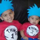 Thing 1 Thing 2 Kids Costumes