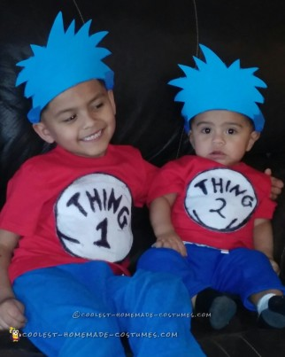 Thing 1 Thing 2 Kids Costumes