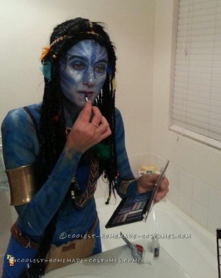 Next-Level Avatar Costume and Makeup