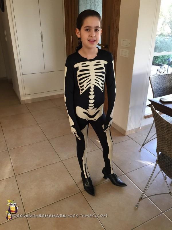 Skeleton morphsuit