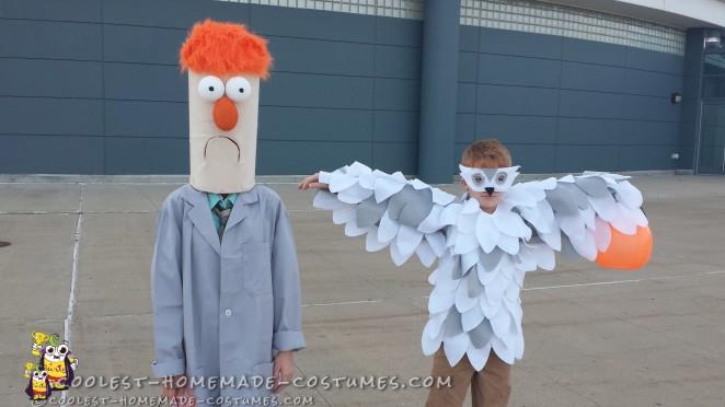 Easiest Ever Muppets Beaker Costume