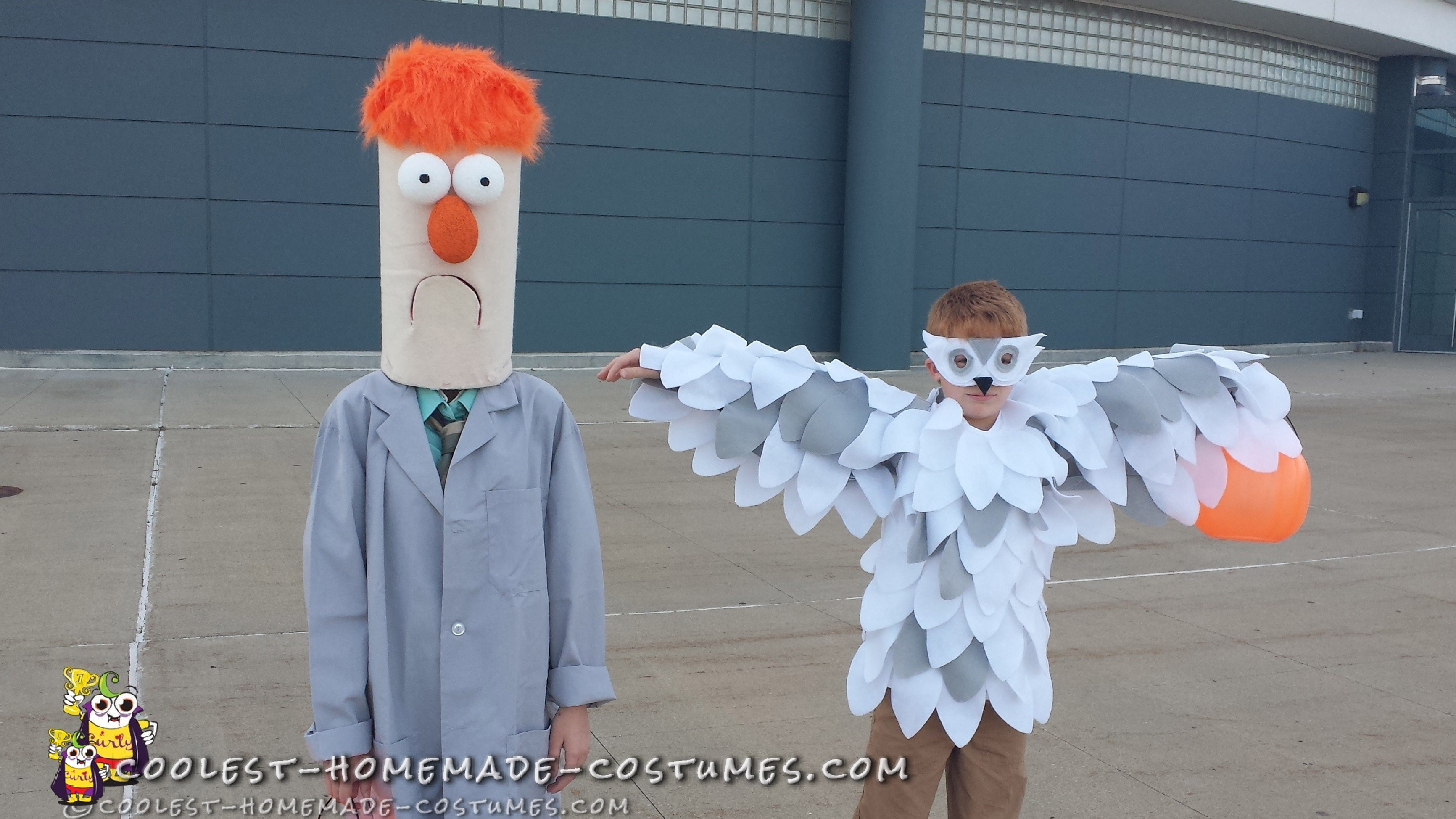Easiest Ever Muppets Beaker Costume