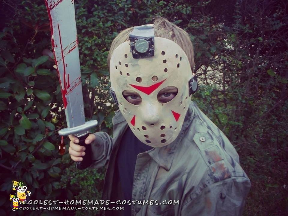 Easy Child S Diy Jason Voorhees Costume