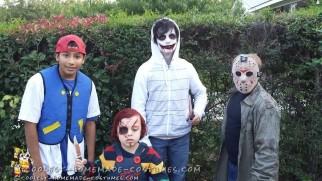Easy Child's DIY Jason Voorhees Costume