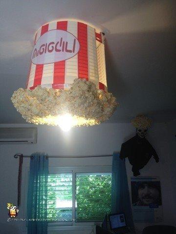 Popcorn Costume Lampshade!