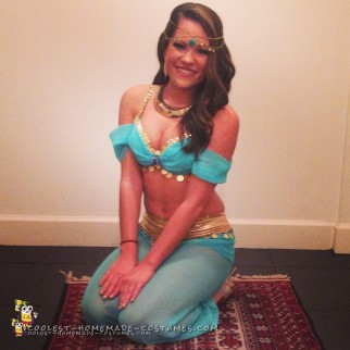 Cute DIY Princess Jasmine Costume