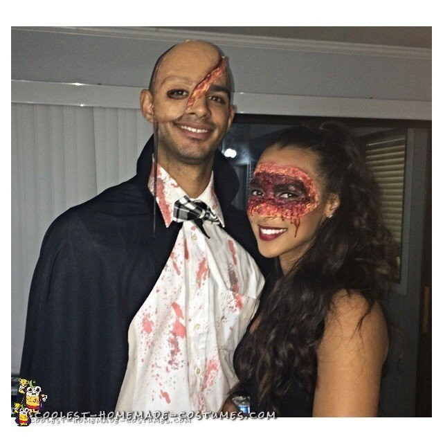 Bloody Masquerade Couple Costume