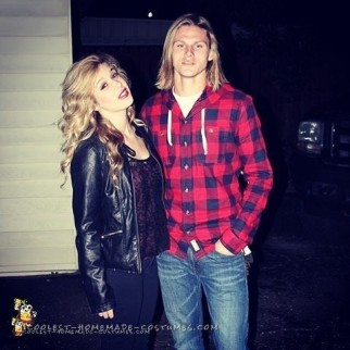 Kurt Cobain and Courtney Love Couple Costume
