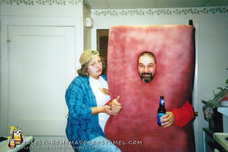 Brick Layer and Brick Couple Costume