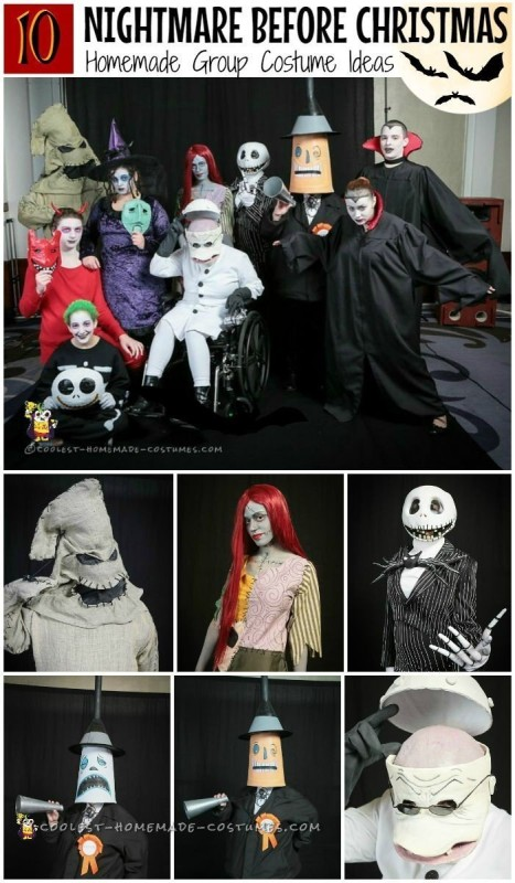 Awesome Nightmare Before Christmas Group Costume - 7