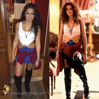 Cute Pretty Woman DIY Costume